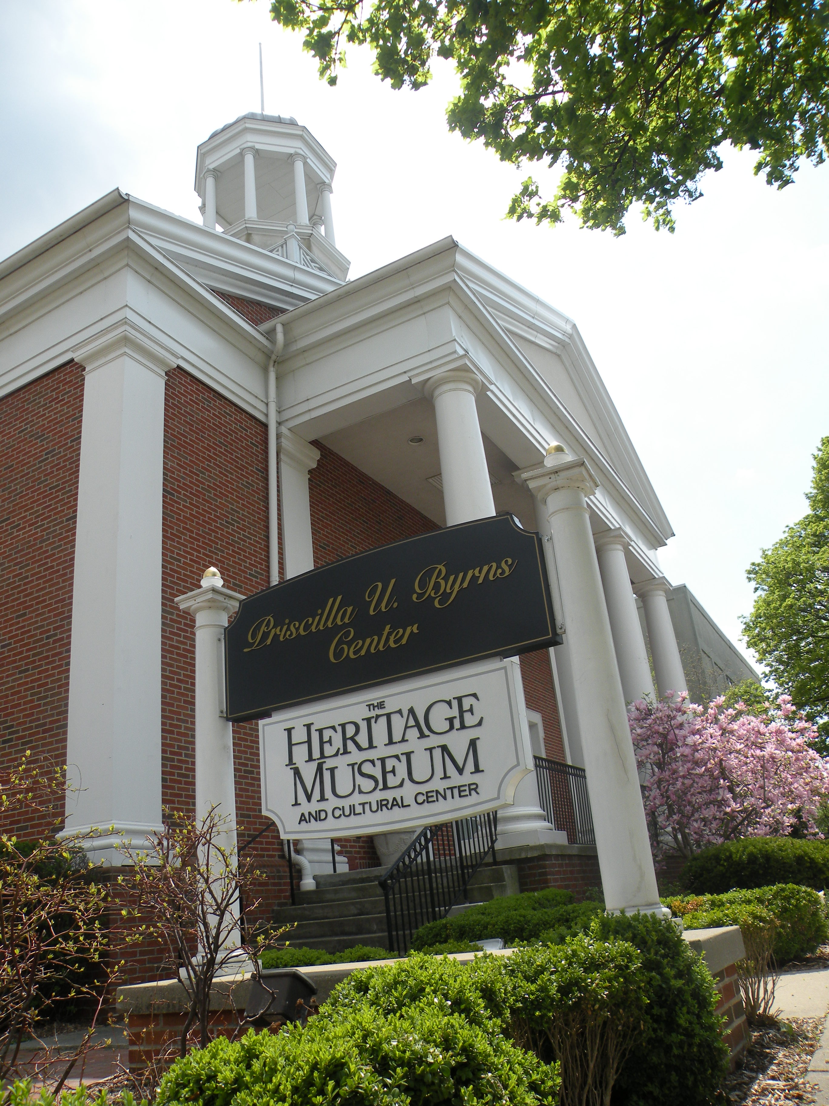 Heritage Museum and Front Sign on Main Street