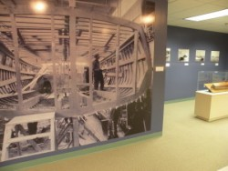 Benton-Harbors-Boat-Building-Industry-exhibit-photo-with-inside-of-hull-shot-300x225