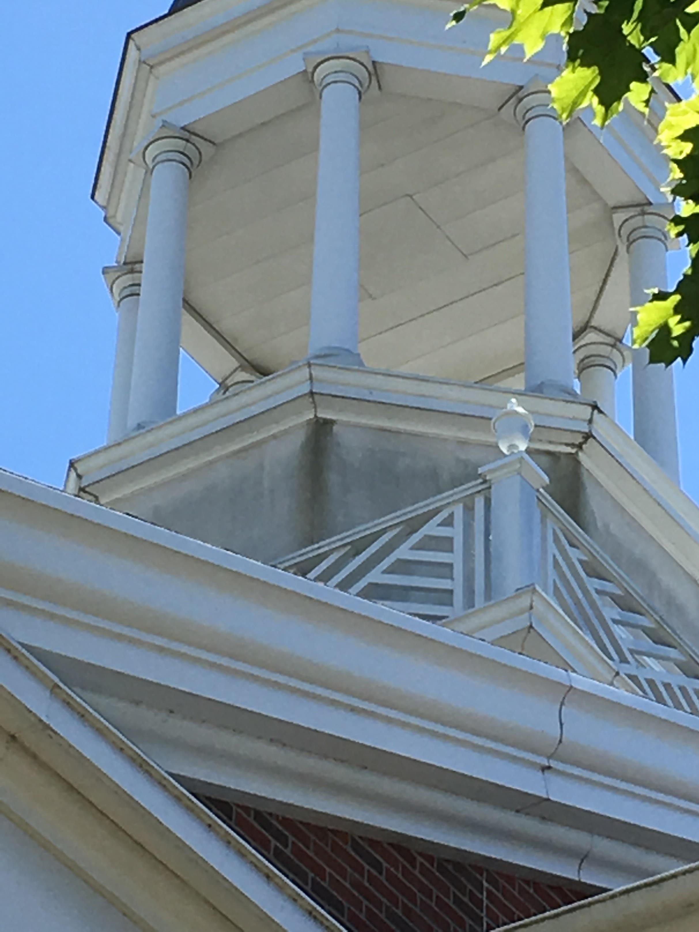 Cupola in need of restoration