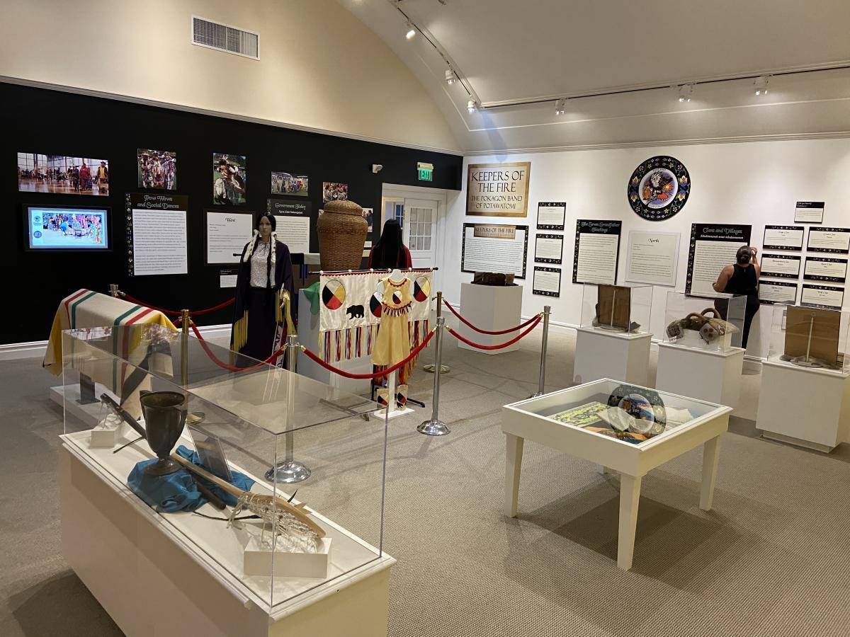 Exhibit facing West - HMCC