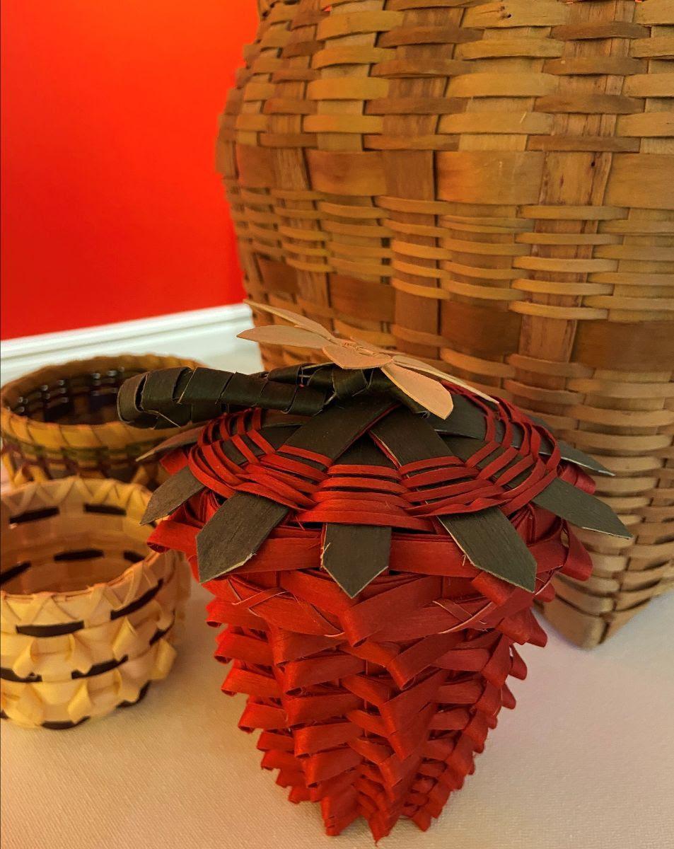 Black Ash Baskets - Courtesy Pokagon Band of Potawatomi